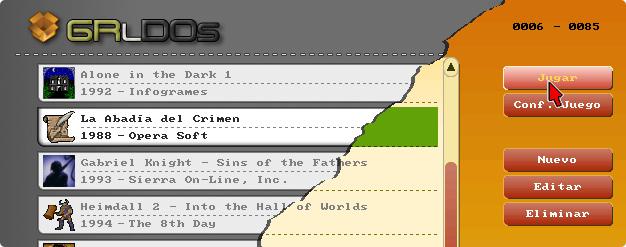 GRlDOs GUI para DOS y DOSBox